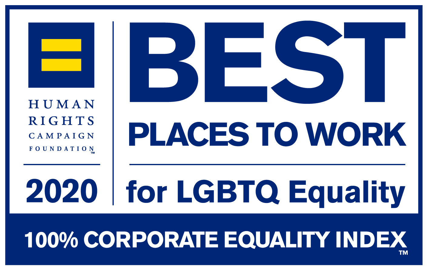 2020 Best Place to Work logo